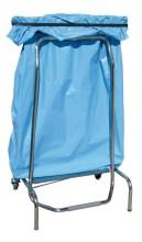 Conteneur porte sacs système ciseau à pédal