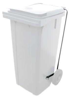 Pédale optionnelle pour benne à ordures