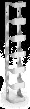 Flaschenhalter, Weinregal aus Edelstahl, zur Wandmontage