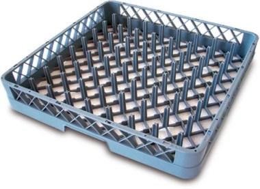 Panier de lave vaisselle pour assiettes table inox lave for Machine plonge professionnel