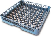 Dishwasher plate rack basket