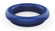 Blue ring for waste chutes