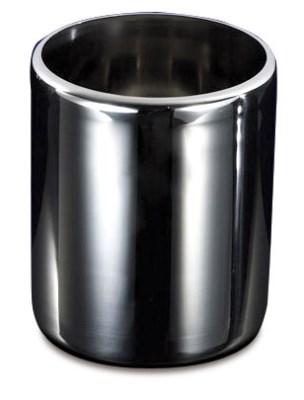 Bac inox cylindrique à crème glacée