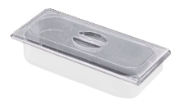 Tampa plana policarbonato para cuba de geladaria