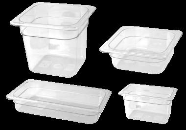 Bac gastro en plastique polycarbonate