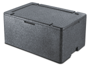 Gastronorm container for thermic isolation