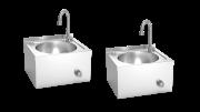 Handwaschbecken Edelstahl 2 Set