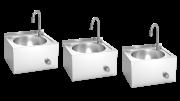 Handwaschbecken zur Wandmontage XS 3 Stück