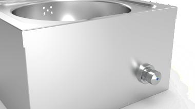 Handwaschbecken zur Wandmontage XS + Seifenspender