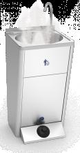 Lave mains autonome inox Eau Chaude 12 V