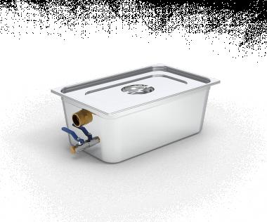 Mobiler Fettabscheider aus Edelstahl Kapazität für 50 Mahlzeiten