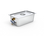 Stainless steel portable grease trap