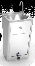 Mobiles Handwaschbecken Edelstahl