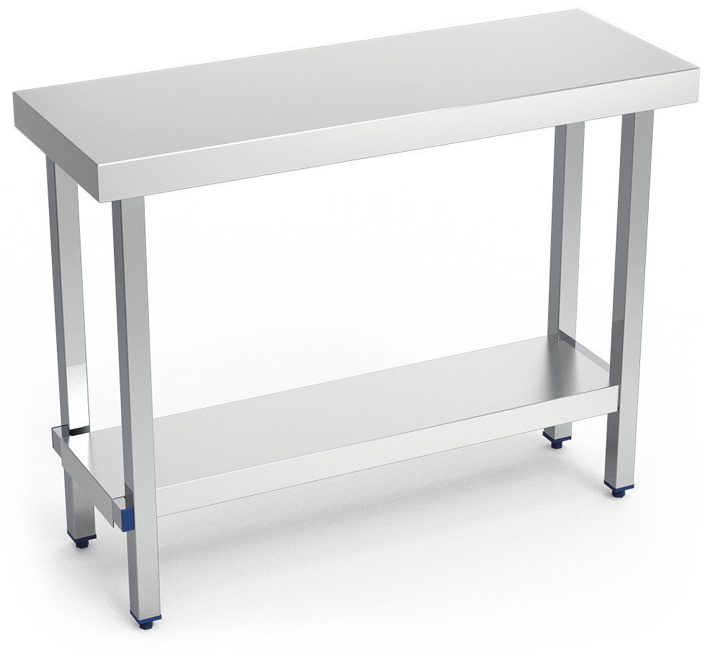 Table inox professionnel for Table cuisine professionnelle inox