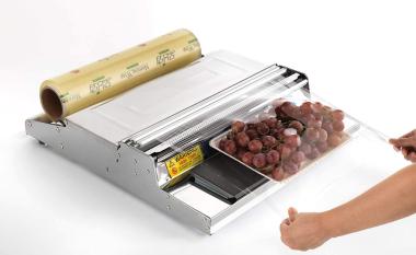 Machine à emballer alimentaire sur table