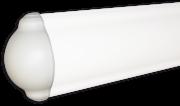 Verschluss/Abschluss für Wandabweiser aus Plastik