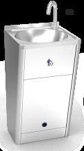 Lave-mains portable autonome automatique avec température réglable