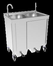 Tragbares Handwaschbecken für Großveranstaltungen