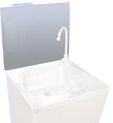 Dosseret inox amovible pour accoupler au lave mains dosseret inox pour lave mains dosseret - Credence pour lave main ...