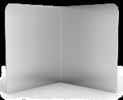 Corner backsplash