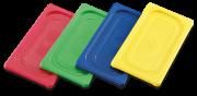 Tampa de polipropileno GN colorida