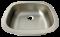 Cuve inox à souder ou encastrer rectangulaire profondeur 145 mm.
