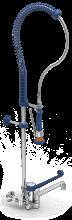 Double inlet shower fitting, monoblock model