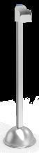 Säule für Flasche mit hydroalkoholischem Gel
