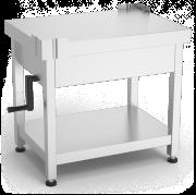 Table spéciale machines avec système délévation