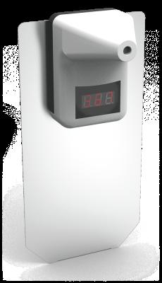 Infrarot-Thermometer mit Säulenadapter