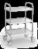 Table / chariot auxiliaire multifonctionnel pour instruments ou service à roulettes