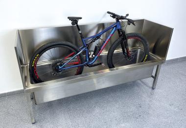 Spezial-Fahrradwaschbecken