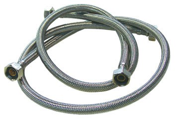 "Flexible tuyau de raccordement en maille inox 1/2"""