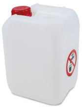 Bidon d´eau de 10 litres pour lave main autonome (Eau sale)