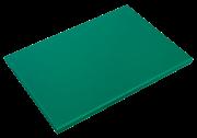 Grünes Schneidbrett aus Polyethylen P500 mit hoher Schnittfestigkeit