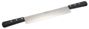 Two handle cold meat knife