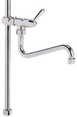 tige verticale pour robinet douchette avec col de cygne table inox lave mains inox tag re. Black Bedroom Furniture Sets. Home Design Ideas