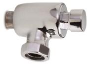 WC Spülung mit Druckknopf