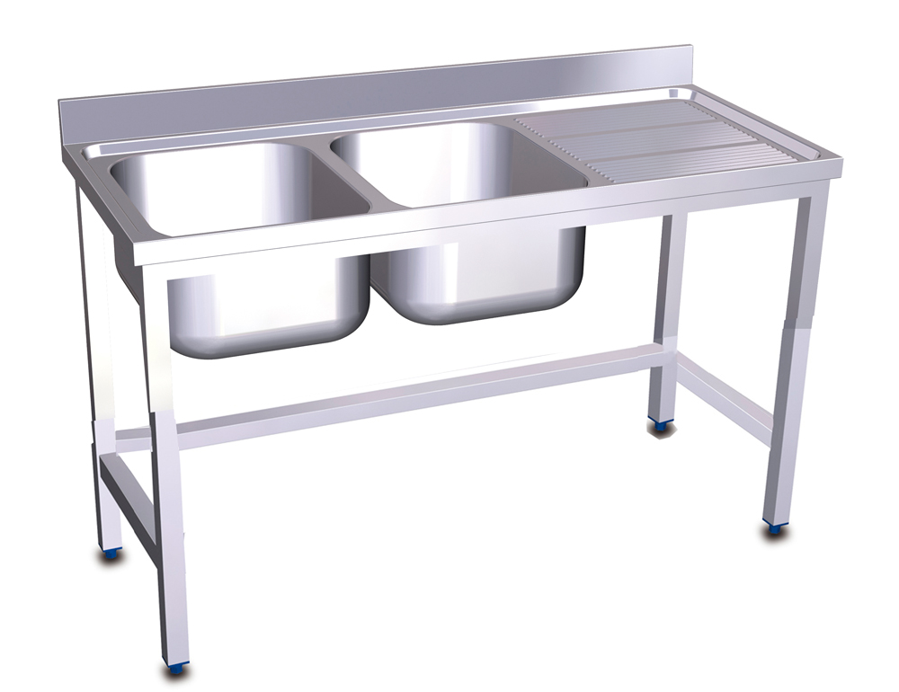 Free Latest Meubles Inox Tables Inox Centrale Ou Mobile Armoires Chariots  Echelle Plonge Montage Comme Vier With Evier Inox Occasion With Montage  Evier.