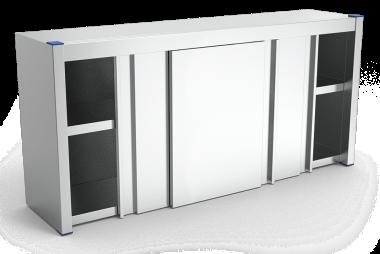 armoire inox avec portes coulissantes lioninox. Black Bedroom Furniture Sets. Home Design Ideas