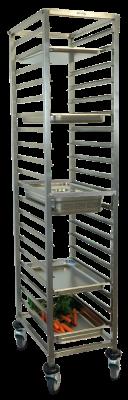 Chariot Gastronorm 1/1 avec 20 niveaux