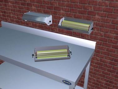 Folienabroller, Folienabreißer 300 mm Breite
