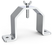 Stainless steel ham holder tool for tables
