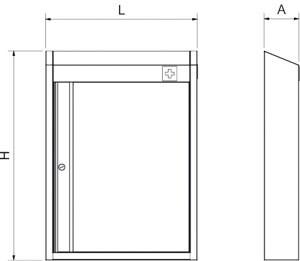 armoire inox pharmacie table inox lave mains inox. Black Bedroom Furniture Sets. Home Design Ideas