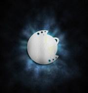 Désinsectiseur Eco-Inox décoratif - lune