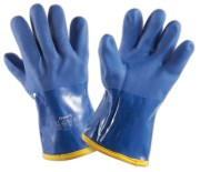 Gloves for extreme cold in PVC, temperatures below -20 ºC