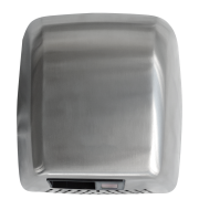 Stainless satiny optic hand drier without nozzle