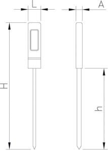 Thermomètre digital basic