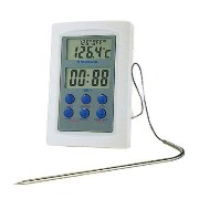 Digitales Thermometer mit Ofensonde